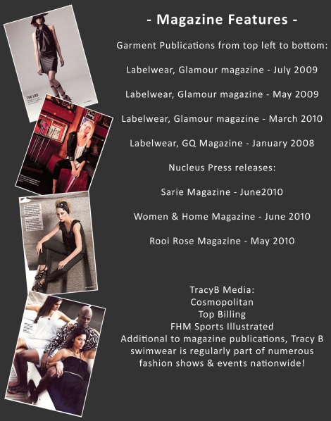 Magazine Features.