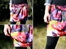 Floral Drawstring Skirt