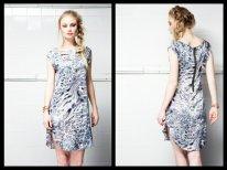 Talia Dress in Smokey Blue - R450 EA