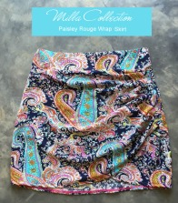 paisley print wrap rouge skirt copy
